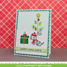 Lawn Fawn - Happy Howlidays (Stamptember)
