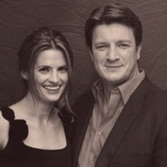 Beckett and Castle, or SK and NF. Both look good together!