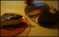 pastel de calabaza y chocolate