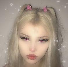 Makeup Inspo, Makeup Tips, Beauty Makeup, Hair Makeup, Aesthetic Makeup, Aesthetic Grunge, Cute Makeup, Pretty Makeup, Pink Hair