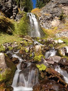 The Plaikni Falls trail is such a great way to spend the day hiking at Crater Lake...and the sight of Plaikni Falls at the end of the trail makes it even better.
