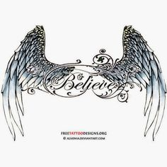Angel Wing Tattoos For Girls On Lower Back never mind a tatoo paint it on a wall maybe over a bed Body Art Tattoos, Tribal Tattoos, Girl Tattoos, Tattoos For Women, Tattoos For Guys, Christus Pantokrator, Tattoo Son, Tattoo Pics, Geniale Tattoos