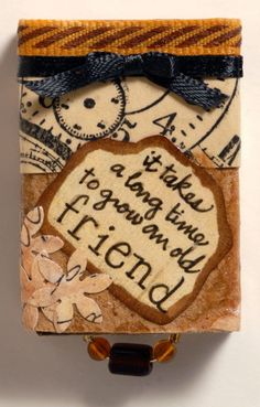 Altered Matchboxes by Jan Darrah - Cards and Paper Crafts at Splitcoaststampers