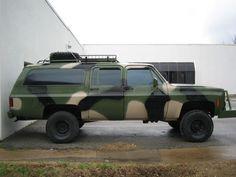 Suburban assault vehicle