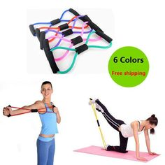 Women& Men Resistance Training Bands Rope Tube Workout Exercise for Yoga Body Fitness