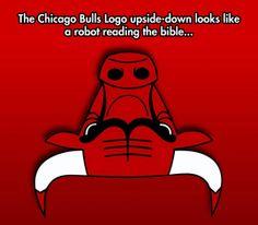 Hidden Robot And Bible