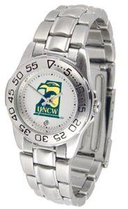 UNCW NC Wilmington Ladies Stainless Steel Wristwatch SunTime. $56.95