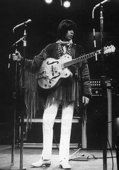 Neil Young of the Buffalo Springfield