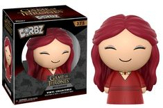 From Game of Thrones, Red Witch (GW) , as a stylized Dorbz vinyl from Funko! Figure stands 3 inches and comes in a double sided window display box. Check out the other Game of Thrones figures from Funko! Game Of Thrones Figures, Funko Game Of Thrones, Game Of Thrones Series, Barcelona, Games Stop, Witch Fashion, Cat Hat, News Games, Vinyl Figures