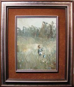 Patrick Shirvington original oil 'A Bit Marshy' Australian Marsh Arthur Boyd, Australian Art, Have Fun, Oil, The Originals, Artist, Artists, Butter