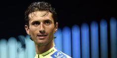 L'Italien Daniele Bennati (Tinkoff) Tour d'Andalousie: Bennati vainqueur au sprint et leader - Cyclisme Ruta del Sol # 1. Virant à la perfection dans la dernière courbe, l'Italien Daniele Bennati produit son effort en direction de la ligne, qu'il franchit...