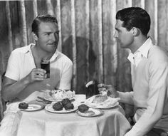 Randolph Scott and Cary Grant Old Hollywood Stars, Hollywood Actor, Classic Hollywood, Vintage Couples, Vintage Men, Cary Grant Randolph Scott, Viejo Hollywood, Good Looking Actors, Becoming An American Citizen