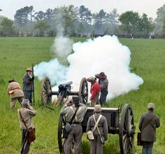 150th Anniversary reenactment of the Battle of Shiloh
