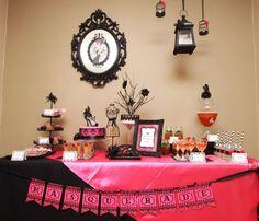 Glam Masquerade Bacholorette Party | CatchMyParty.com