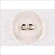 40L/25mm Clear Silver Plastic Button