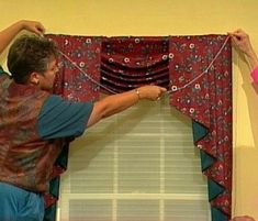 Free curtain patterns for making valances, swags, jabots, café curtains, shades and drapes. Some of the best, simple and easy, curtain sewing pattern ideas. Free patterns  for DIY window treatments.