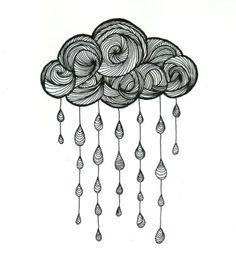 """Képtalálat a következőre: """"rain cloud drawing"""""""
