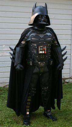 Mash-up: Darth Knight Costume