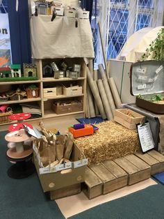 Eyfs Classroom, Classroom Ideas, Deconstructed Role Play, Play Corner, Role Play Areas, Down On The Farm, Dramatic Play, Deconstruction, Reggio