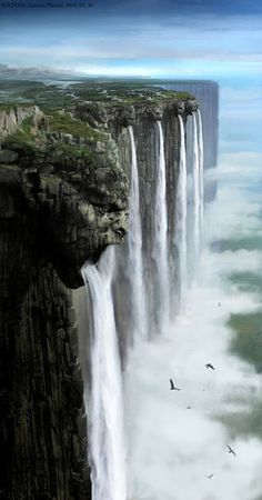 Nadaness In Motion: Takhayyal writing prompt 38: Waterfall