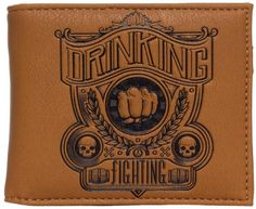 Peněženka Drinking and Fighting Billfold