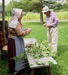 Step back to the 19th century and learn how people lived and the how they crafted what they needed