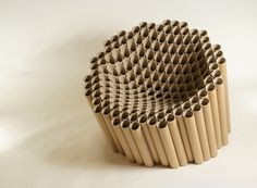 NIFT Situation test -2015 - Chair Made out of Cardboard