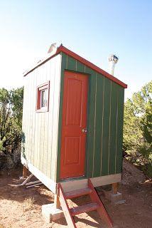 YURTCATION: OUTHOUSE AND SOLAR