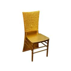 Metallic Glittering Shiny Gold Spandex Stretch Chair Slipcover Gold Furniture, Furniture Slipcovers, Slipcovers For Chairs, Chair Cushions, Banquet Chair Covers, Dining Chair Covers, Dining Chairs, Chair Bows, Chair Sashes