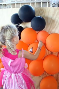 """44 Creative School Fundraising Ideas. #11: Before a """"guess the # of balloons in a car"""" fundraiser, put tickets in the balloons. After the guessing fundraiser, you can have people buy a balloon for popping. If there's a golden ticket inside they win a special prize."""