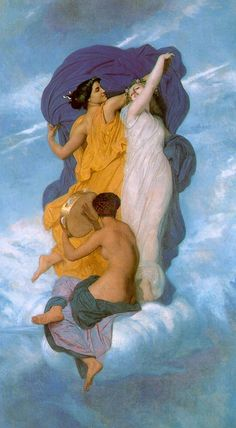 The Dance by William-Adolphe Bouguereau