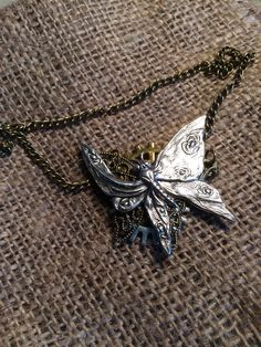 A personal favourite from my Etsy shop https://www.etsy.com/listing/233486843/steampunk-butterfly-choker