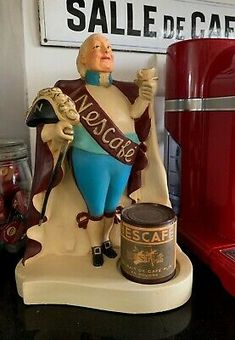 Vintage Advertisements, Vintage Ads, Vintage Antiques, Vintage Mannequin, Counter Display, Store Displays, General Store, Gap, Old Things