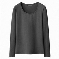 Women Girls Cotton T-shirt Solid Long Sleeve Casual Tee Plus Size undershirt atacado roupas femininas Lady clothes tees & tops