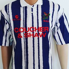 1993-94 West Bromwich Albion Home Shirt 23 - boing boing. Great shirt from @topcornershirts link in bio #wba #westbrom #footballshirtcollective