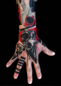 Hand Tattoos | Finger Tattoos - Inked Magazine
