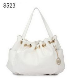 Cheap Michael Kors Chain Ring Tote White Save Much 156342