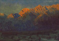 Sunrise in the Sierras, by Albert Bierstadt