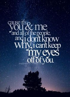 You And Me by Lifehouse. This is my all time favorite song.