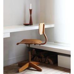 Chaise de bureau vintage