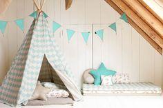 Kinderkamer DIY: Tipi tent in 9 stappen