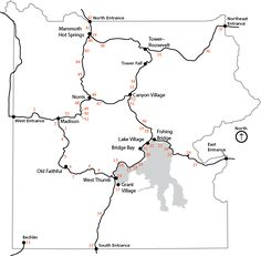 Image Result For National Parks Locations