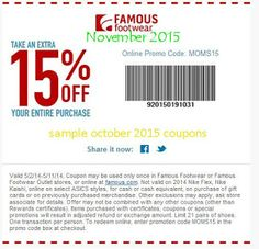 Famous Footwear Coupons Ends of Coupon Promo Codes JUNE 2020 ! Free Coupons Online, Free Printable Coupons, Free Printables, Coupons For Boyfriend, Coupon Stockpile, Love Coupons, Grocery Coupons, Extreme Couponing, Coupon Organization