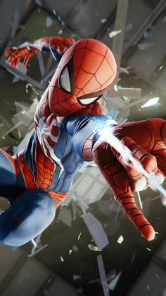 Marvel Spiderman wallpaper by SthaArpit - dd - Free on ZEDGE™ Amazing Spiderman, All Spiderman, Parker Spiderman, Spiderman Images, Spiderman Suits, Marvel Comics, Marvel Heroes, Marvel Avengers, Ms Marvel