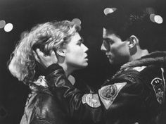 Top Gun (1986) - Kelly McGillis & Tom Cruise