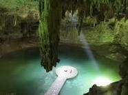 Cenote in Yucatan  Cave diving