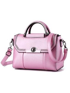 d3d156cf3cc9 New Candy Color Korea Stylish All-Match Rivet Hand Bag
