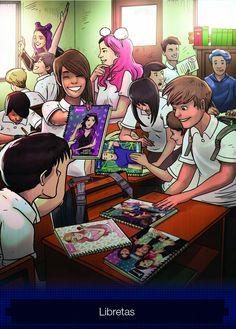 Back to school with the Polinesians Anime Chibi, Kawaii Anime, Disney Parks, Akira, Harley Quinn, Cool Drawings, Fan, Spiderman, Geek Stuff