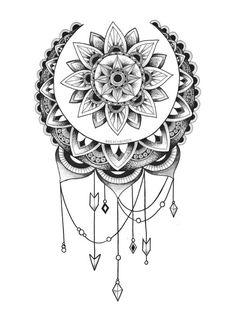 Tatto Ideas 2017 Dream Catcher onBehance Tatto Ideas &...