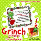 I couldn't resist making my own Grinch Gift Labels for Candy Canes when I saw a fellow teacher using the idea in her classroom! I hope you can us...